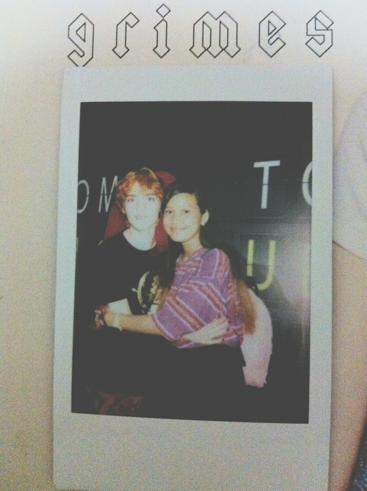 Hugged her thrice!! Hehe. Thanks to Fiona for sparing an instax film for me :)